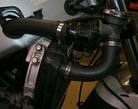 Old bike woes and workarounds, radiator hoses-new-rad-hoses-l-side.jpg
