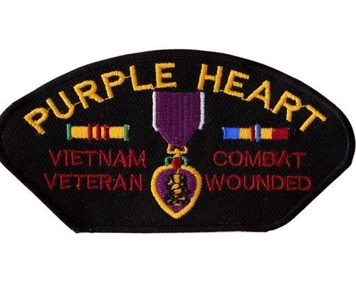 PURPLE HEART Patch